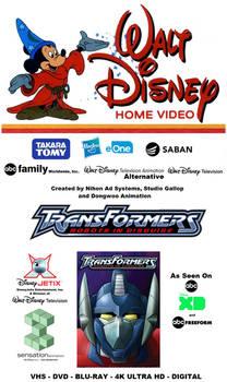 Transformers: RiD - VHS Retro Box Cover