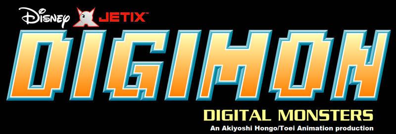 Disney-Jetix Digimon anime series logo