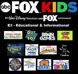 ABC Fox Kids- E/I Lineup