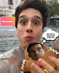 Chester: Eating The Gingerbread Man