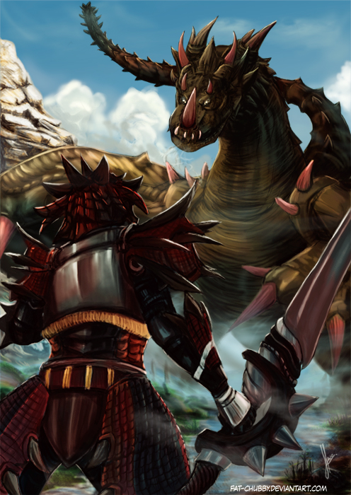 Monster Hunter : Blademaster by fandygembuk