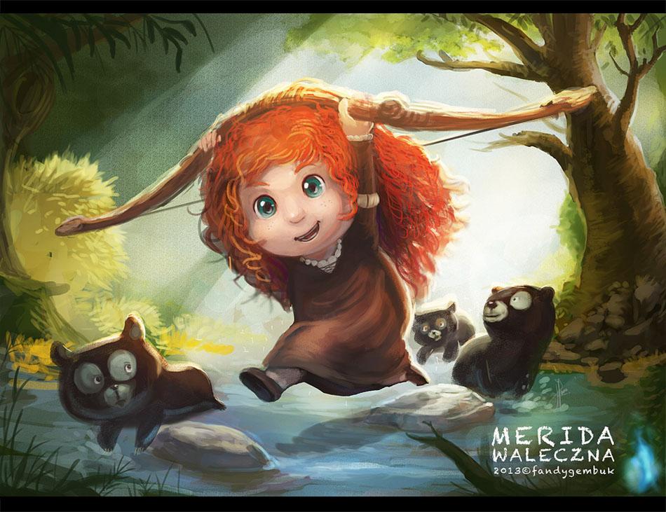 Little Merida by fandygembuk