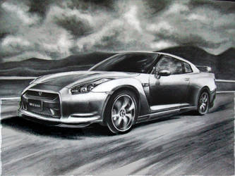 Nissan GTR by Louisa911