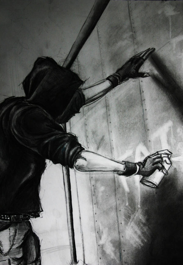 Graffiti Artist by Louisa911