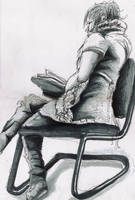Girl in a Chair by Louisa911