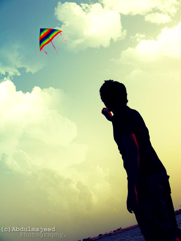 Kite by AbdulmajeedP