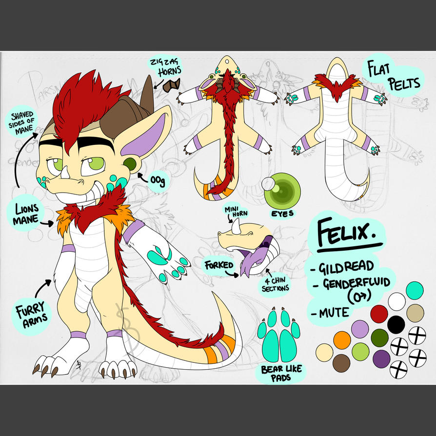 Felix Reference by THEsquiddybum