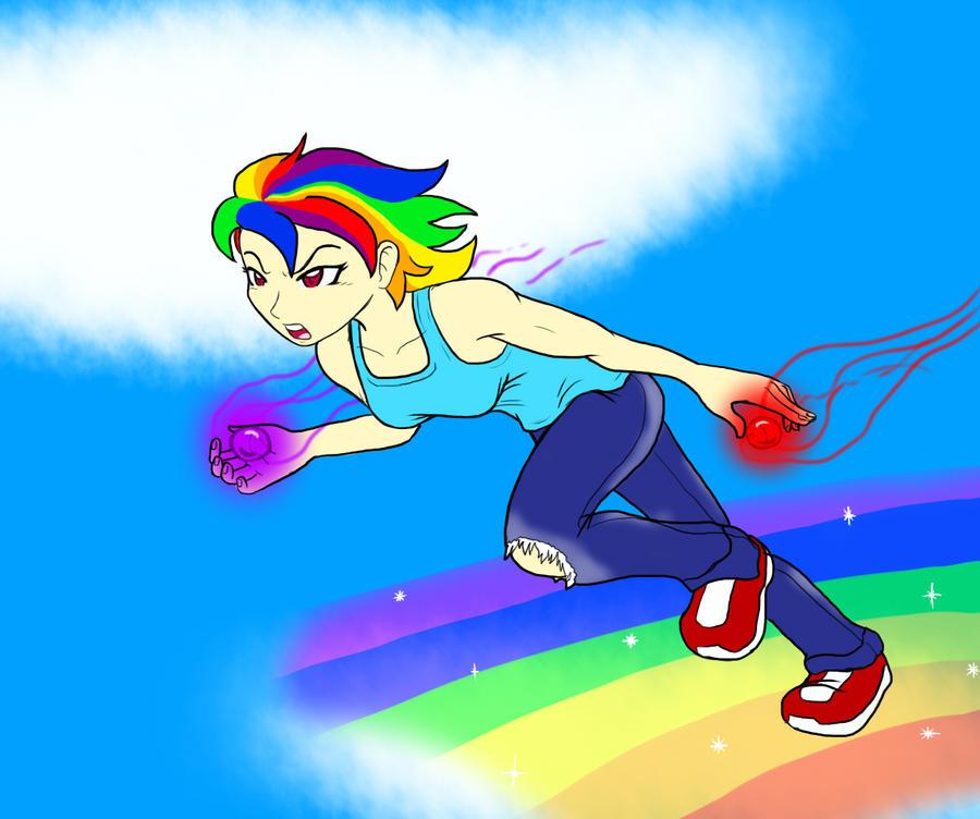 Rainbow Dash Tennis Shoes