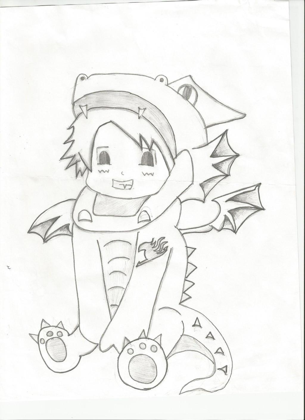 Chibi Natsu!! by chinchillaluvr2