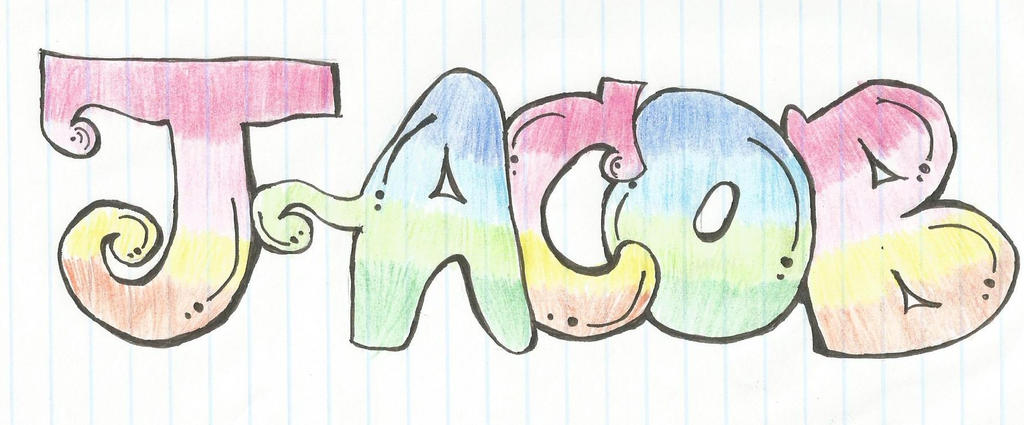 Jelly Name In Bubble Letters