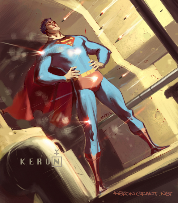 Superman bullet by Kerong