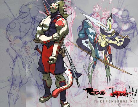 Rogue Impact:  Yojim by Kerong