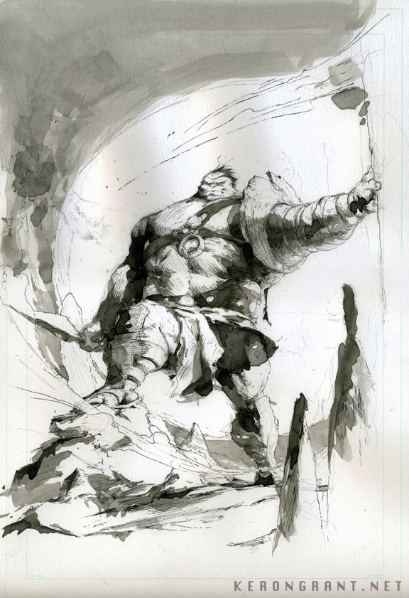 Planet Hulk by Kerong