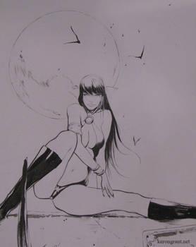Vampirella con sketch