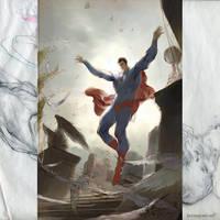 Superman by Kerong