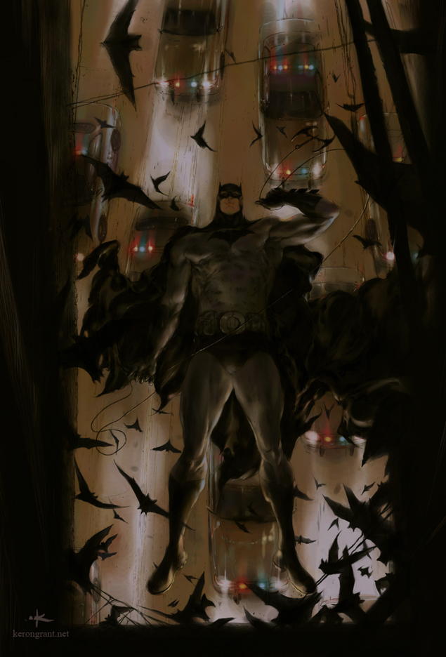 Batman by Kerong
