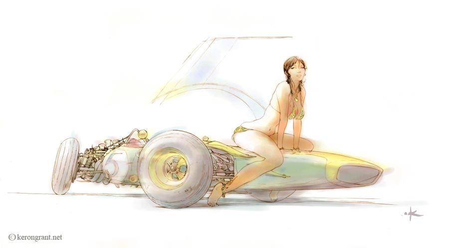 Lotus Girl by Kerong