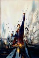 Superman Rise by Kerong
