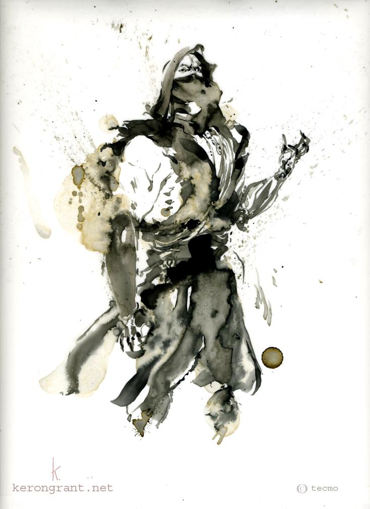 Yaiba of Ninja Gaiden Z by Kerong