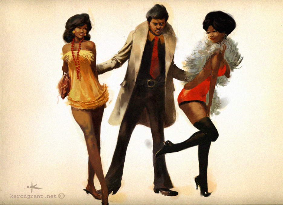 Iceberg Slim Art by Kerong