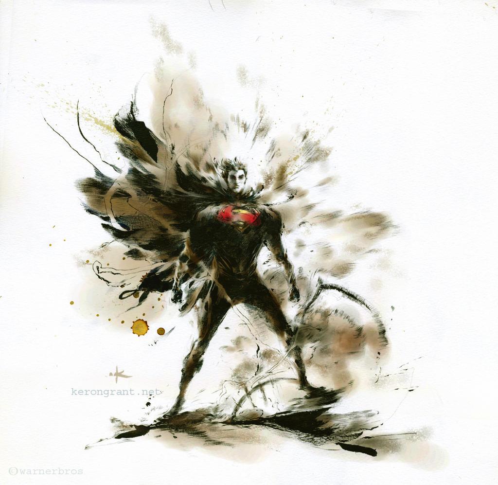 Superman: Man of Steel by Kerong