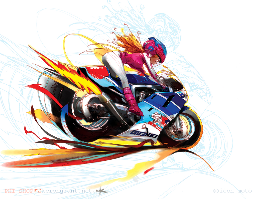 GSXR Girl L by Kerong