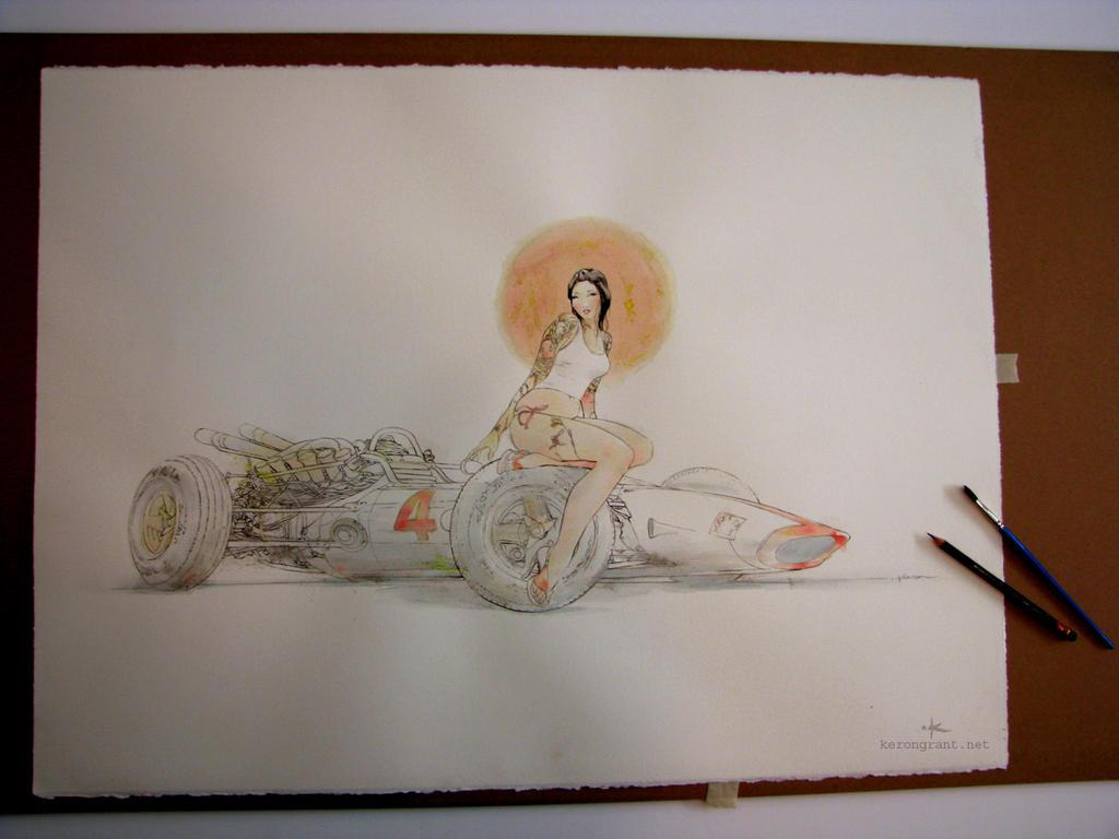 Lady Honda by Kerong