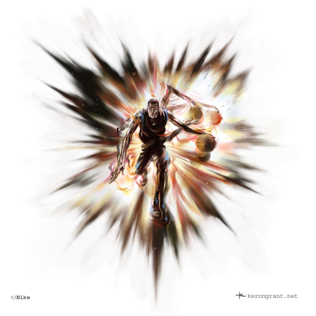 Kevin Durant by Kerong