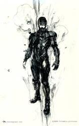 Robocop concept art by Kerong