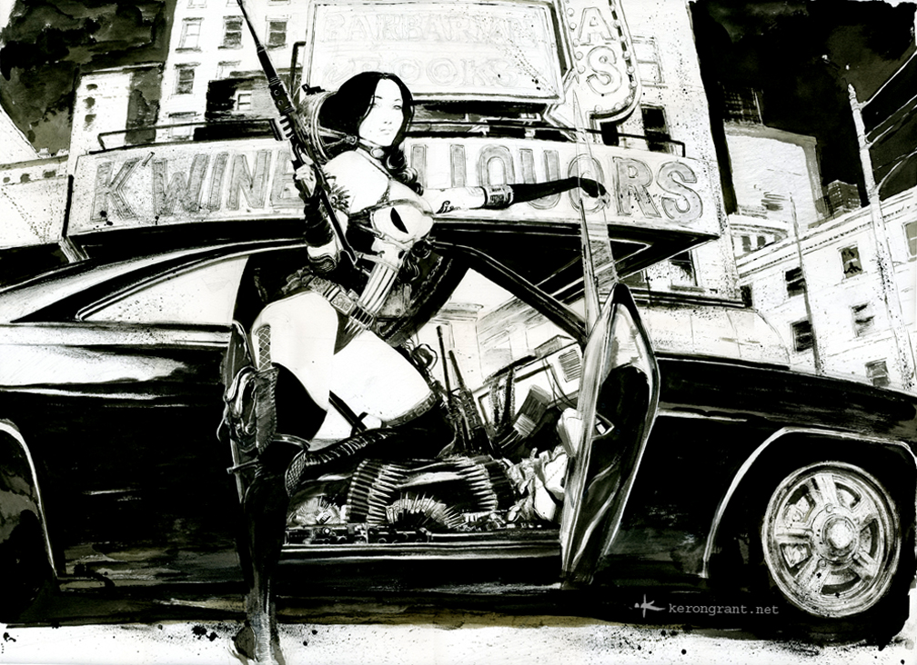 Lady Punisher by Kerong