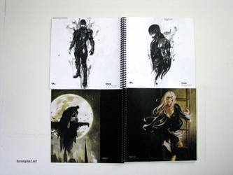 Ink Artbook by Kerong
