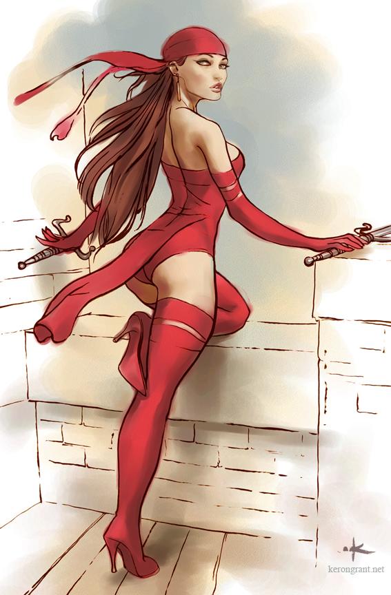 Elektra by Kerong