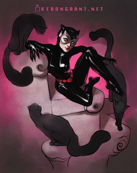 Catwoman by Kerong