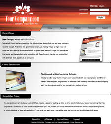 Professional Layout Red