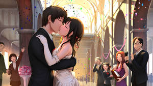 Taki and Mitsuha Wedding