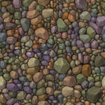 pebbles texture Tile by bananamannen