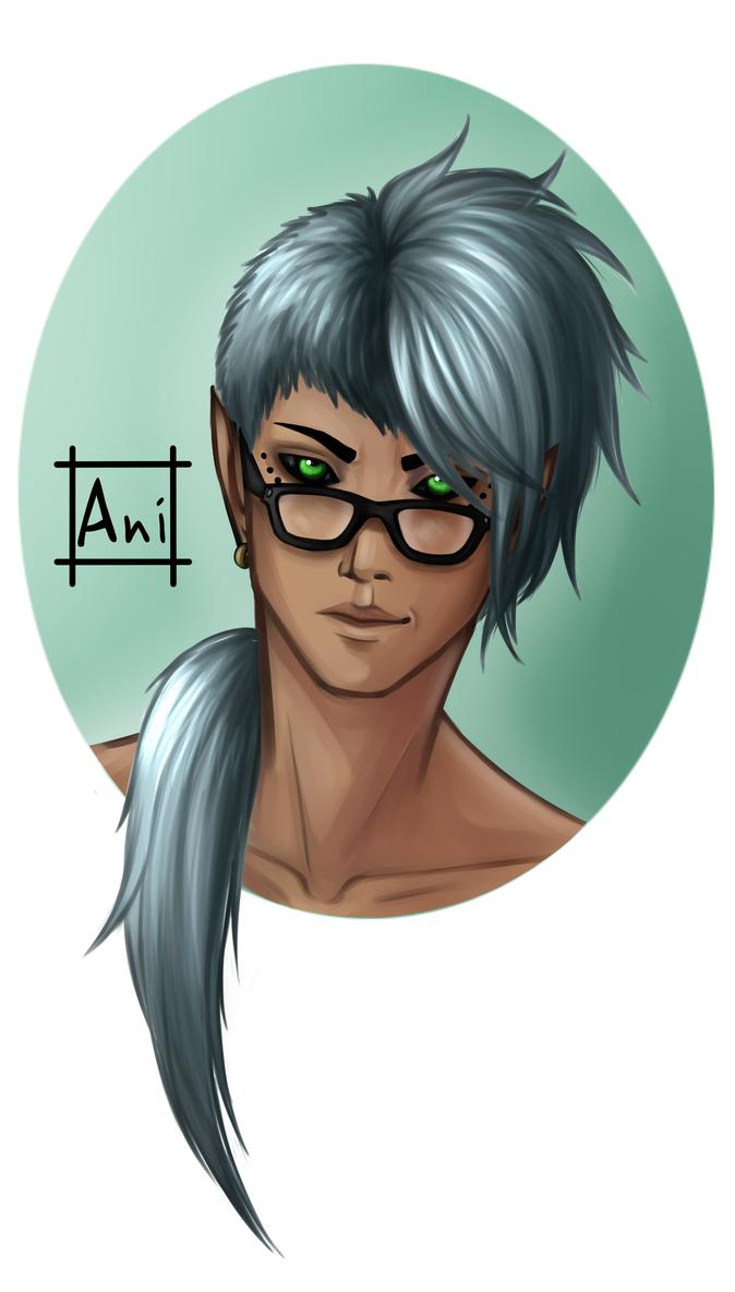 Four-eyes by Aniaku