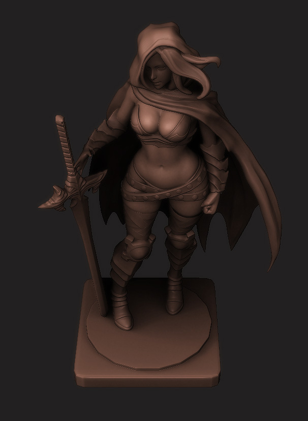 KD: Twilight Knight WIP 9 by HazardousArts
