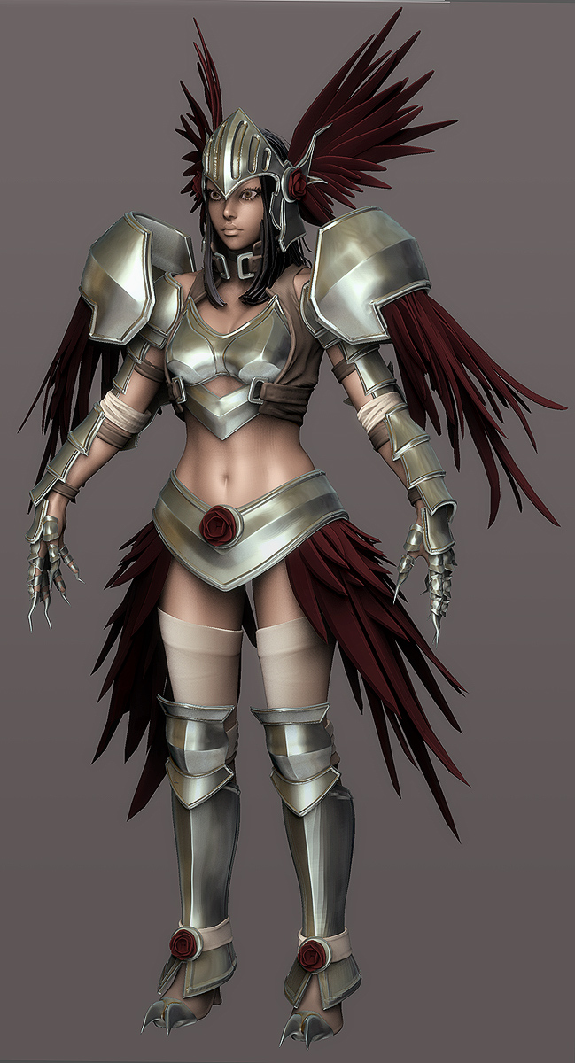 2010 Comicon: Valkyrie WIP 18 by HazardousArts