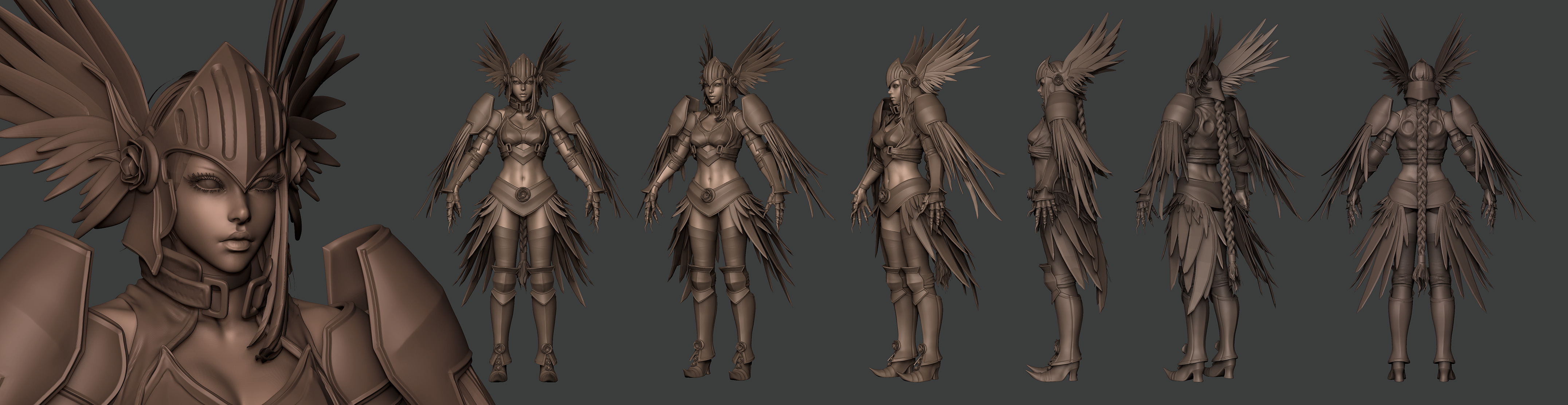 2010 Comicon: Valkyrie WIP 25 by HazardousArts
