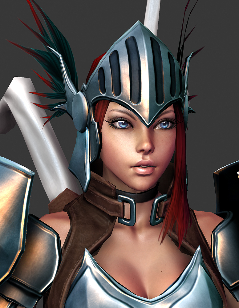 2010 Comicon: Valkyrie WIP 34 by HazardousArts