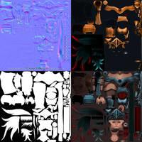 2010:Comicon Valkyrie Textures by HazardousArts