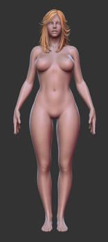Twins - Full Body by HazardousArts