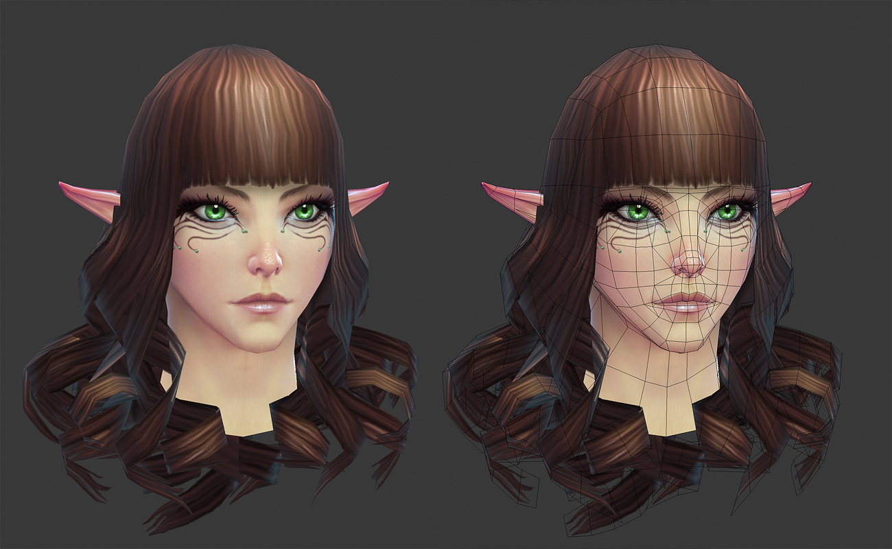 Rift High Elf Female Head By Hazardousarts On Deviantart