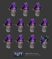 Rift: Kelari Female Head Customisation by HazardousArts