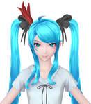 Hatsune Miku: Face Wip