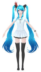 Hatsune Miku: Texture Wip 2