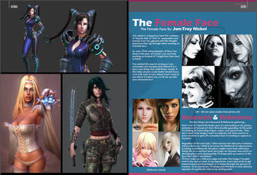 Article on the Female Face Page 1 by HazardousArts
