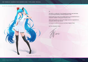 Hatsune Miku - Tutorial Cover Page by HazardousArts