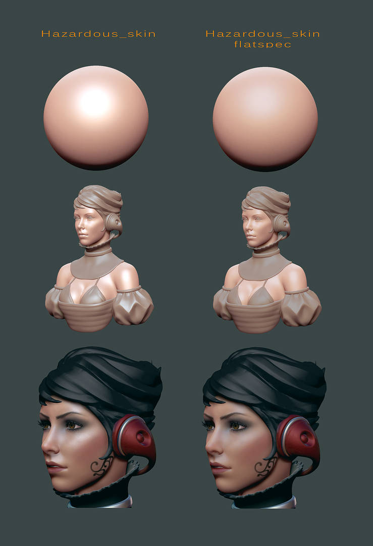 Paint material zbrush
